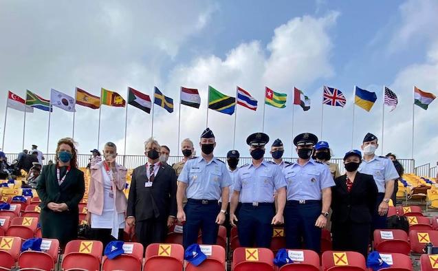 USAF and DOS representatives at Aero India 2021