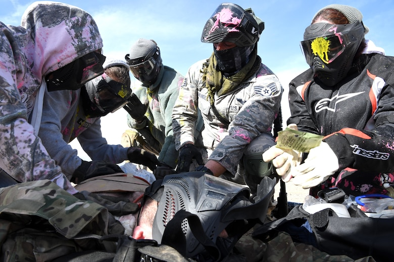 Reserve Citizen Airmen of the 944th Aeromedical Staging Squadron hosted training that tested personnel to their limits January 8-10 at Luke Air Force Base, Arizona.