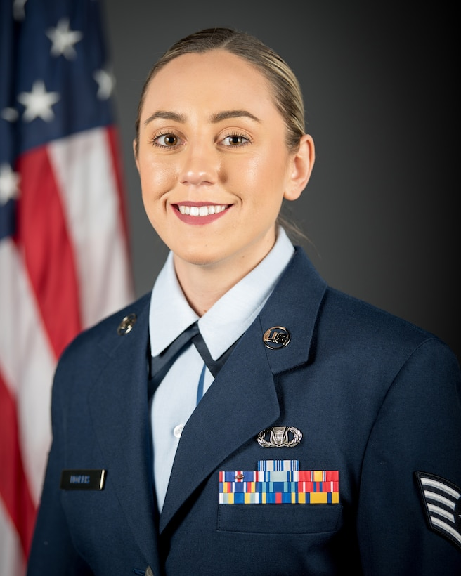 Staff Sgt. Marissa Morris has been named the 2020 Kentucky Air National Guard Airman of the Year in the Non-Commissioned Officer category. (U.S. Air National Guard photo by Staff Sgt. Joshua Horton)