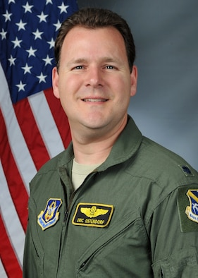 "Lt. Col. Eric ""Dorf"" Ostendorf, 307th Fighter Squadron instructor pilot and special assistant to the commander, stamped his name in the record book for reaching 4,000 flying hours in the F-15E Strike Eagle at Seymour Johnson Air Force, North Carolina."