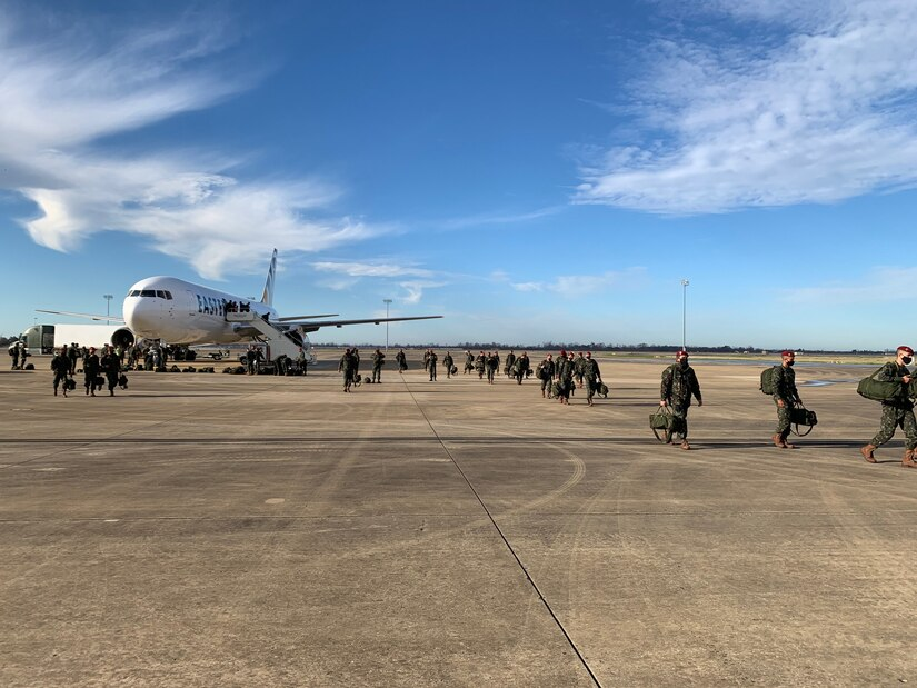 Paratroopers from the Brazilian army have arrived to Fort Polk at the Joint Readiness Training Center on Jan. 5. Once they complete their two weeks of COVID-19 quarantine, they will join the 82nd Airborne Division for Rotation 21-04. We're all looking forward to seeing the great things our countries will do as we train together.