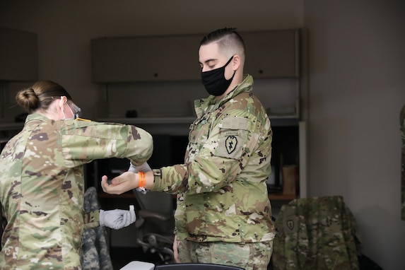 Spartan Medics and Physicians Receive First Vaccinations
