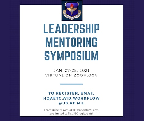 Leadership Mentoring Symposium advertisement