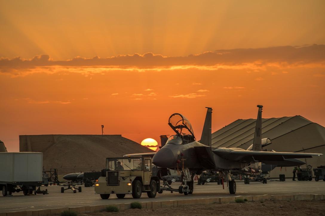 Flightline sunrise