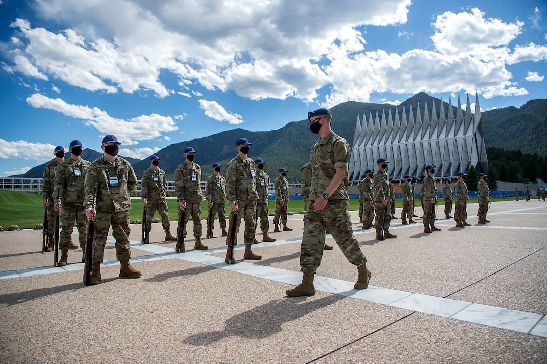 U.S. Air Force Academy BCT Marching Drills