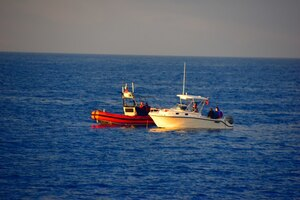 Boat crew rescues two men off Key West, Florida