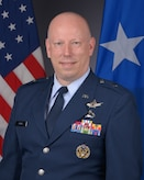Brig. Gen. Stephen Purdy official photo. (U.S. Space Force photo by 45th Space Wing Public Affairs)