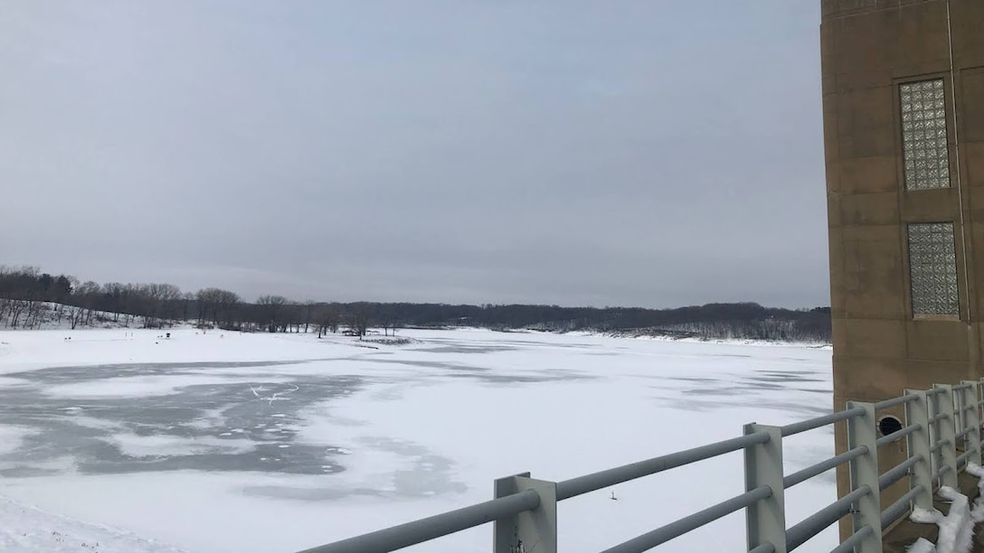 The U.S. Army Corps of Engineers Rock Island District is advising all visitors, including ice fishermen and snowmobilers, to stay off the ice at Coralville Lake and to use extreme caution along the shoreline. Recent fluctuations in temperatures and snow cover has made the ice unstable.