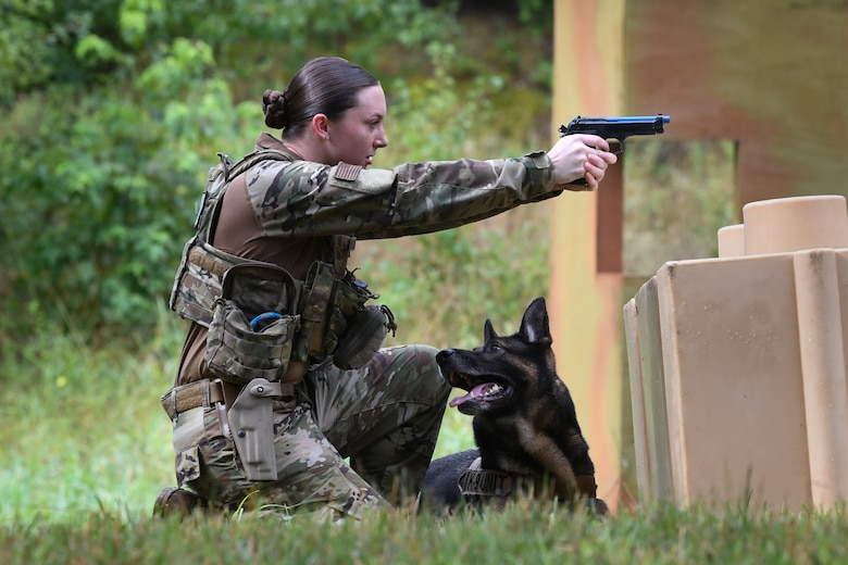 "316th Security Support Squadron hosts ""Top Dog"" competition"