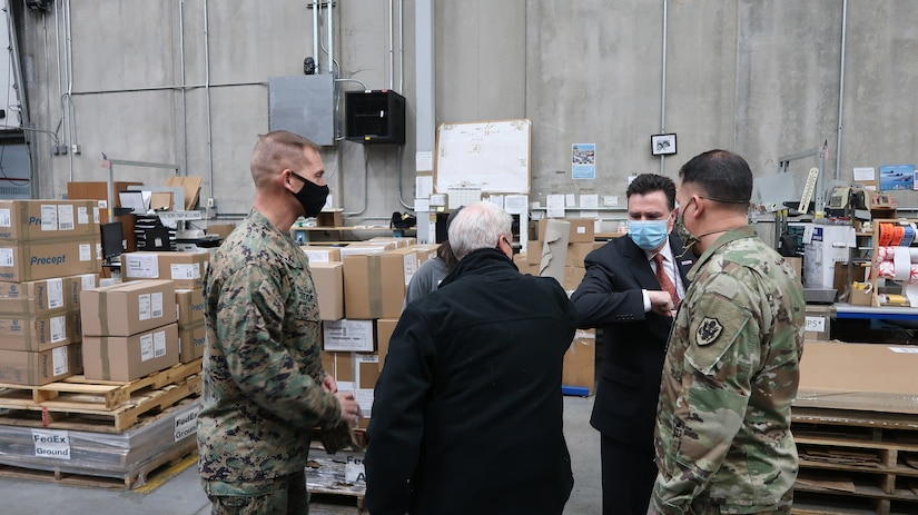 Largest warehouse in Defense Department delivers for Operation Warp Speed