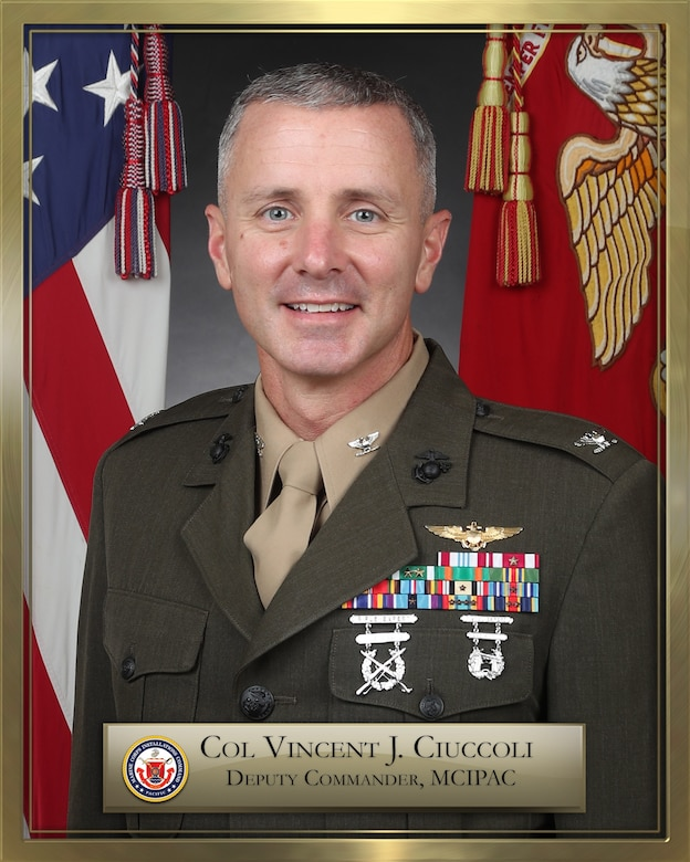 Col. Vincent J. Ciuccoli bio photo