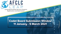 Cadet Board Submission Window