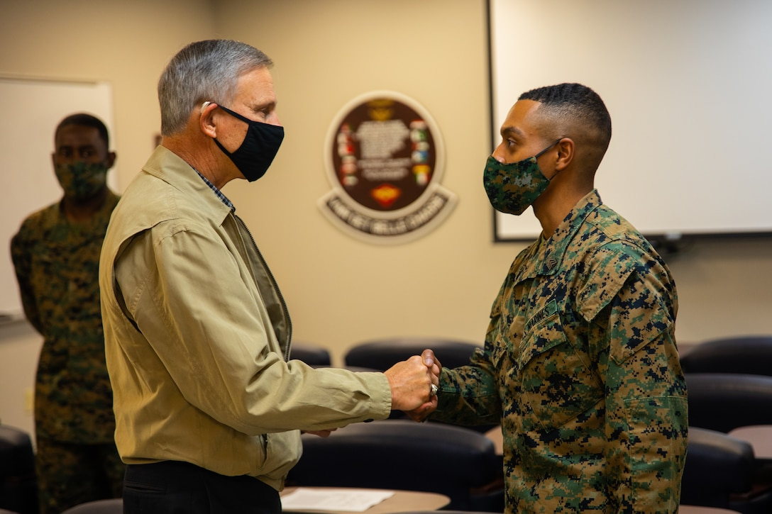 Undersecretary of the Navy Visits MARFORRES and NAS JRB New Orleans
