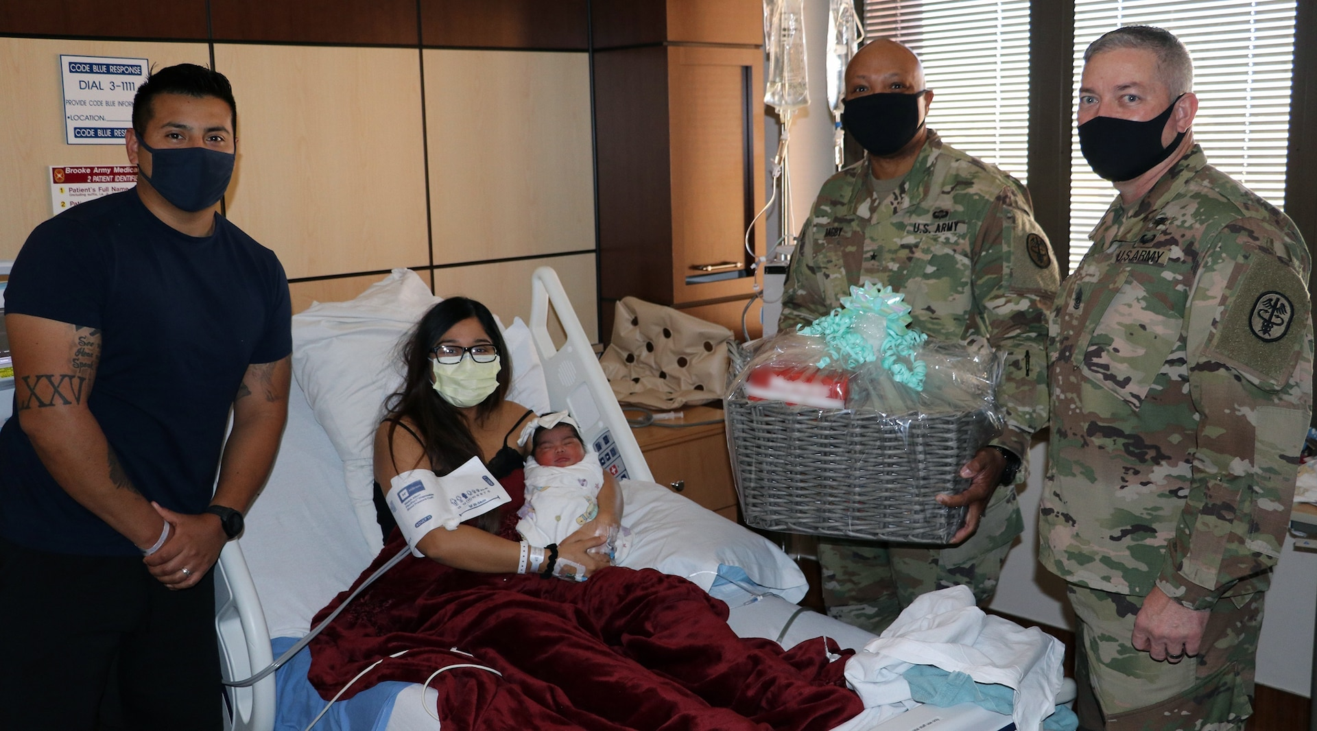 Stella Luna was the first baby born at BAMC at 3:26 a.m. Jan. 1, 2021, weighing 8 pounds, and 2 ounces.