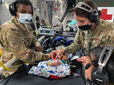 59th Medical Wing Pediatric Critical Care Air Transport Team