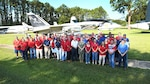 DLA Aviation employees in Jacksonville, Florida, pose for picture