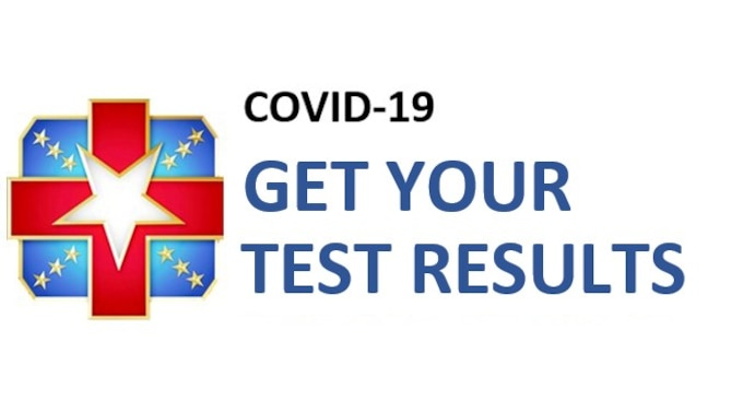 COVID-19 Get Your Test Results