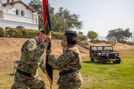 91st Training Division Change of Command, 2020