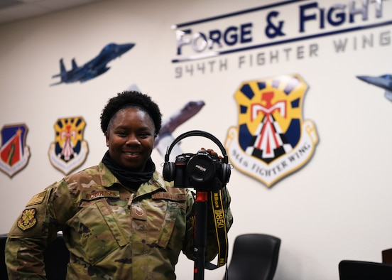 The 944th Fighter Wing January 2021 Warrior of the Month is Tech. Sgt. Courtney Richardson, Public Affairs noncommissioned officer in charge.