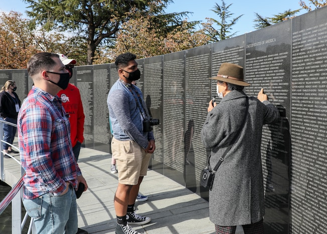 Marines and family members participated in a Republic of Korea Cultural Immersion Tour that allowed them to spend three days on a guided tour through military, historical, and cultural heritage sites.