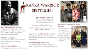 KANZA WARRIOR SPOTLIGHT JAN 2021