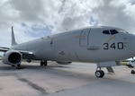 A P8-A Poseidon aircraft attached to Patrol Squadron (VP) 5 arrives in Guam for exercise Sea Dragon 2021. Sea Dragon is an annual multi-lateral anti-submarine warfare exercise that improves the interoperability elements required to effectively and cohesively respond to the defense of a regional contingency in the Indo-Pacific, while continuing to build and strengthen relationships held between nations.