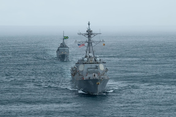 USS William P. Lawrence returns from U.S. 4th Fleet deployment