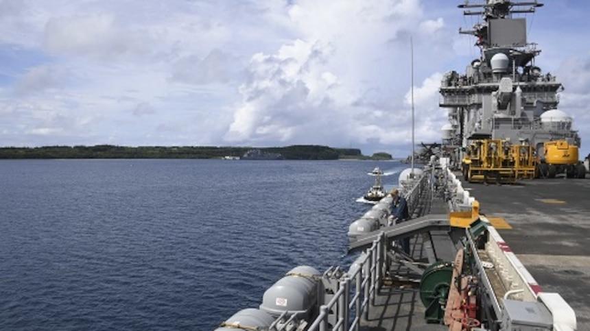 Ship's Flight Deck