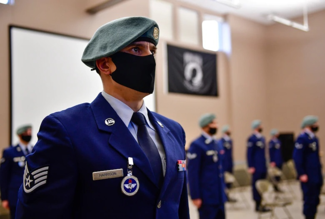 The 336th Training Group held a graduation ceremony for its most successful Survival, Evasion, Resistance and Escape Specialist Apprentice Course January 8, with an all-time low attrition rate of just 7 percent.