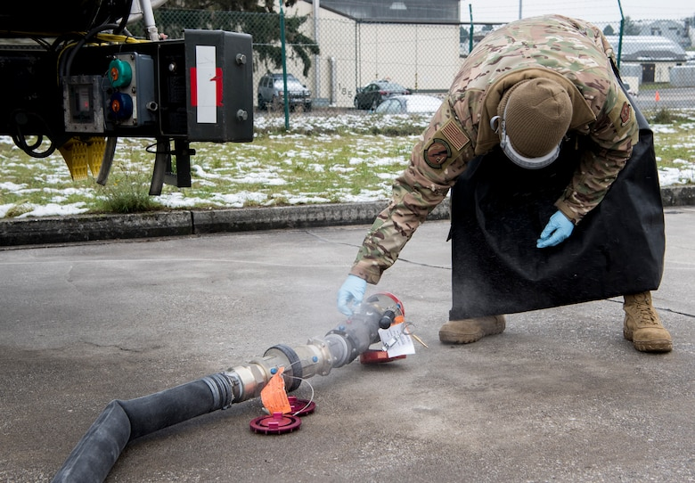 A photo of a fuels Airman