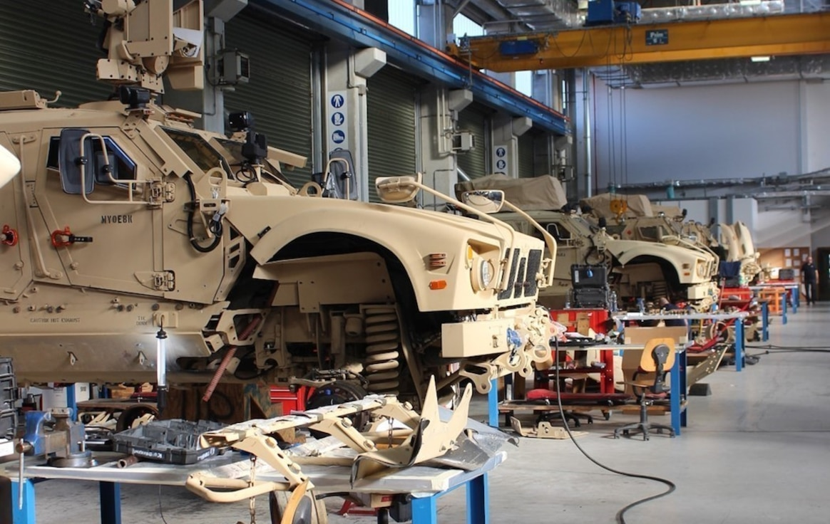 """When he first started working at Leghorn Army Depot for the U.S. Army in 1984, he and his fellow employees had less than 100 pieces of rolling stock they worked with, and the mechanical condition of the equipment was not their responsibility.  Now, 36 years later – at that same Army depot in Livorno, Italy – the Army Field Support Battalion-Africa deputy support operations officer says his team is responsible for over 3,000 pieces of equipment, to include their serviceability and operational condition.  """"We've grown tremendously,"""" said Massimo Carpina, who started out as a care and preservation servicer and rose through the ranks to eventually become one of AFSBn-Africa's senior leaders."""