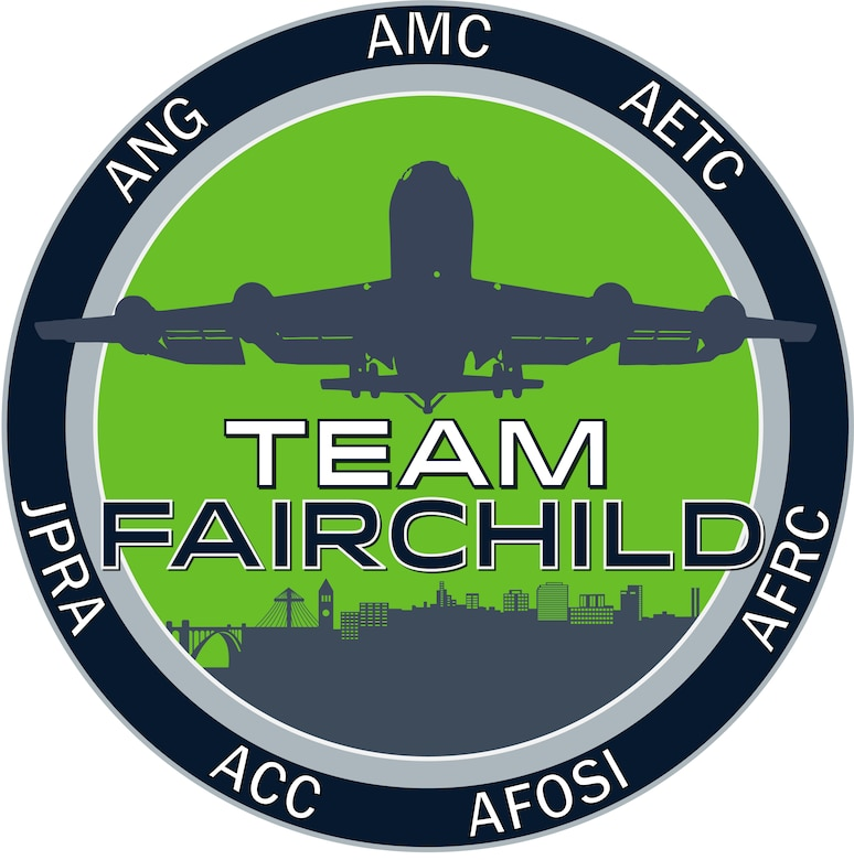Team Fairchild Logo (U.S. Air Force graphic)