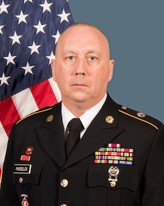 Command Sgt. Maj. William Padgelek, Jr., Deployment Support Command Senior Enlisted Advisor