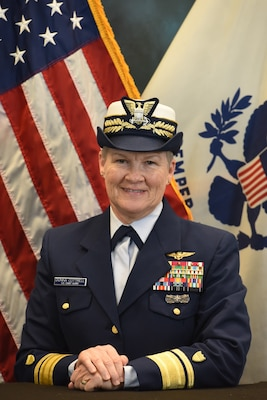 Photo of Read Admiral Donna Cottrell