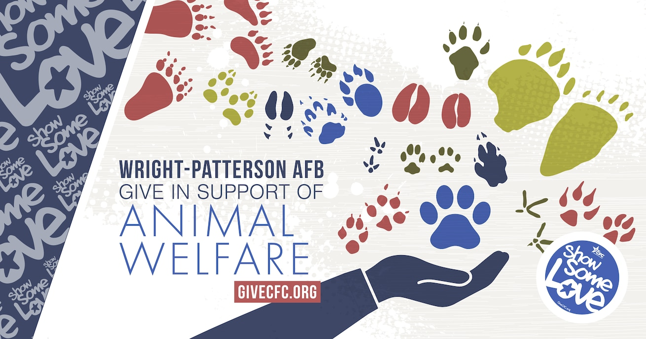 Many CFC charities dedicate their efforts to protecting all creatures, large and small. A CFC contribution will benefit a wide variety of domesticated and wildlife animals. (U.S. Air Force graphic by David Clingerman)