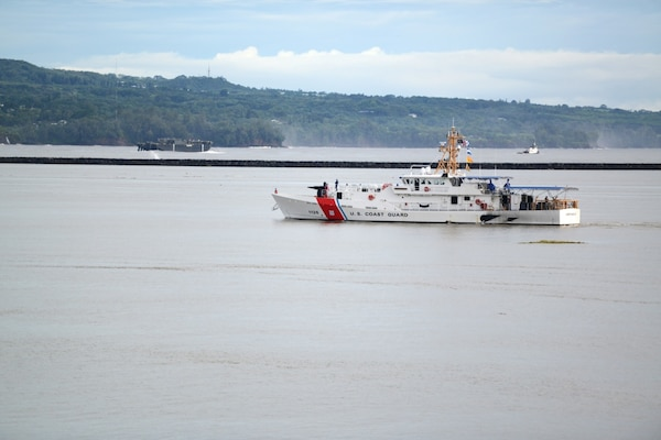Coast Guard Cutter Joseph Gerczak conducts patrol to increase maritime presence in Pacific