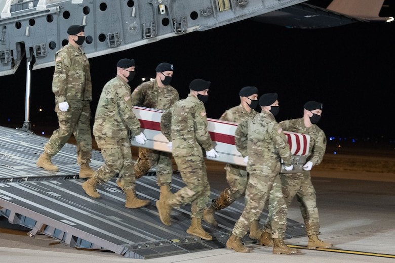 Army Staff Sgt. Anthony C. Bermudez honored in dignified transfer Jan. 13
