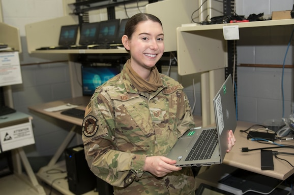 Tech. Sgt. Marissa Abe is a client service technician for the 167th Communications Flight and the 167th Airlift Wing Airman Spotlight for January 2021