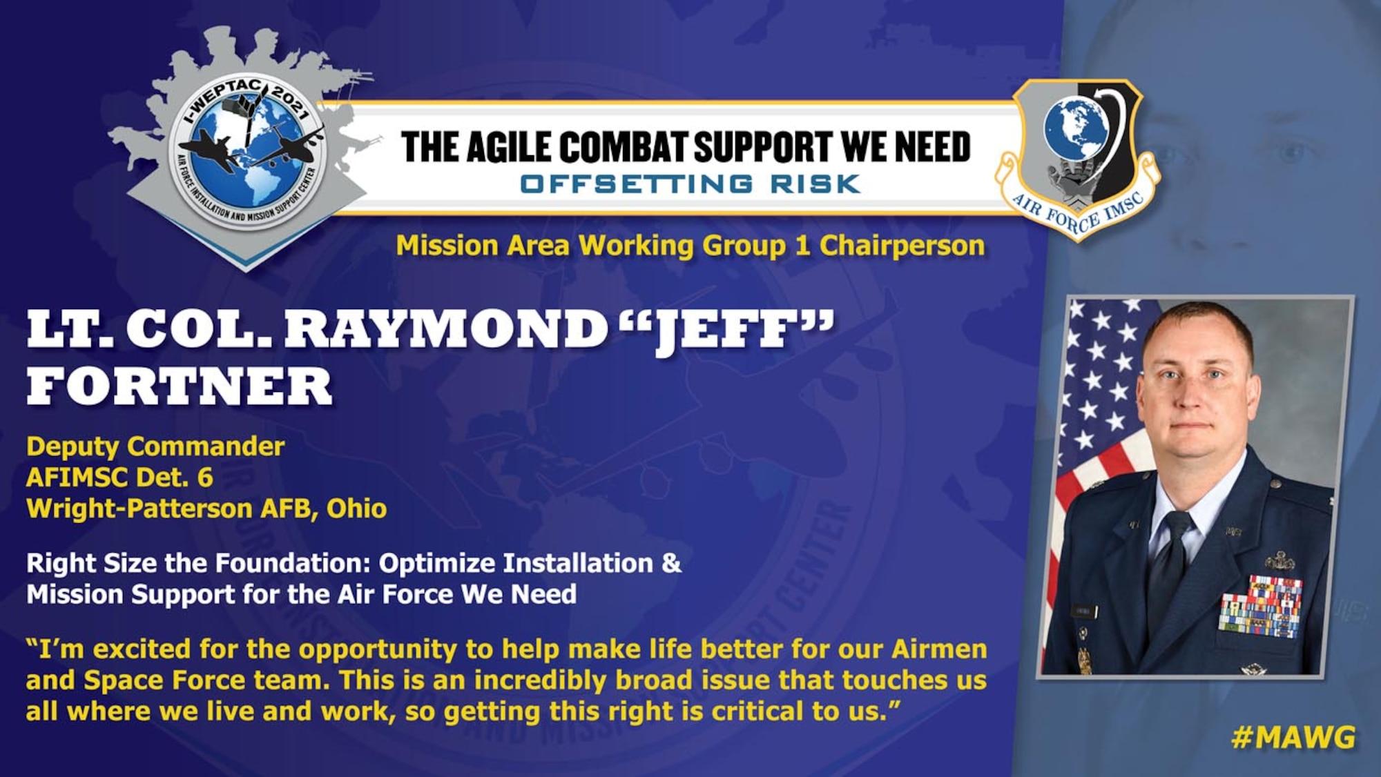 Lt Col Raymond Fortner, 2021 I-WEPTAC MAWG Chair 1
