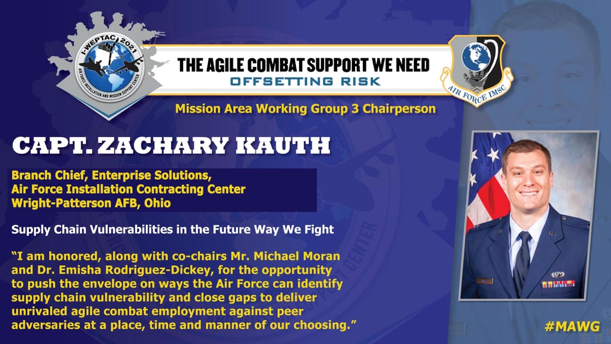 Capt. Zachary Kauth, 2021 I-WEPTAC MAWG Chair 3