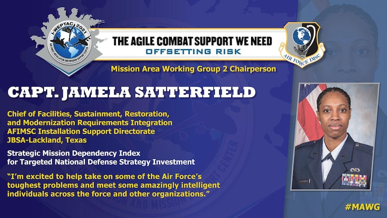Capt. Jamela Satterfield, 2021 I-WEPTAC MAWG Chair 2