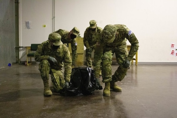 KFOR Soldier trains unit recovery team