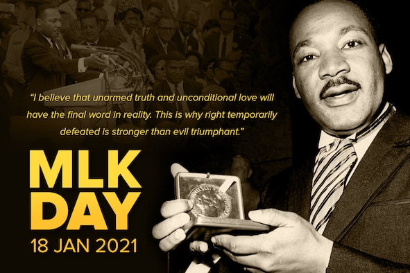 1964:  American civil rights campaigner Martin Luther King Jnr (1929 - 1968).  (Graphic by David Perry)