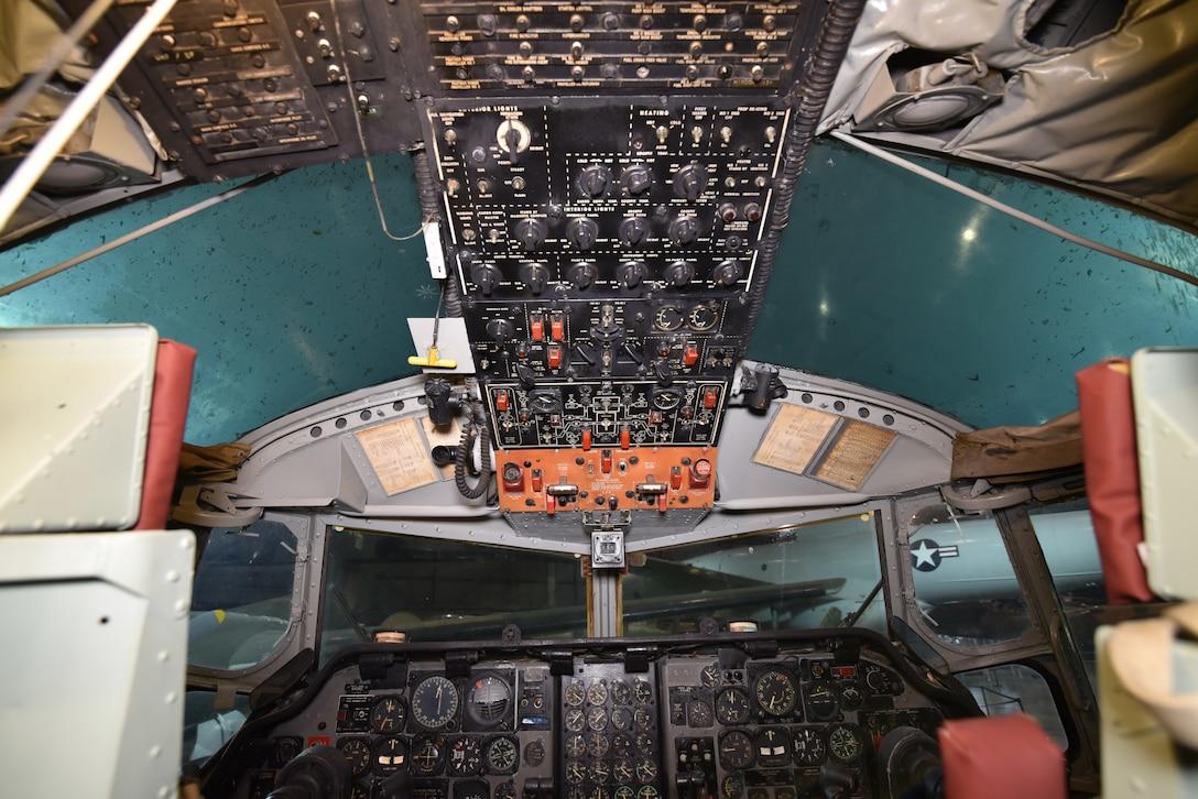 Fairchild C-123K Provider cockpit view