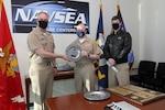 Washington, DC (January 12, 2021) -- Rear Admiral Eric Ver Hage, Navy Regional Maintenance Center (CNRMC) and Director, Surface Ship Maintenance and Modernization (SEA 21) presented the Rear Admiral