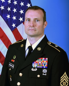 "Land Component Command CSM Patrick ""Gene"" Cunningham - as of September 2020"