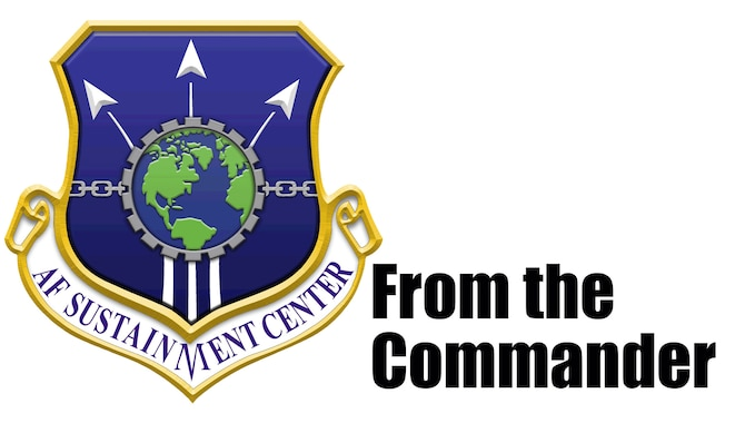 A message from the Air Force Sustainment Center Commander, Lt. Gen. Gene Kirkland.