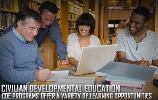 Civilian development education graphic