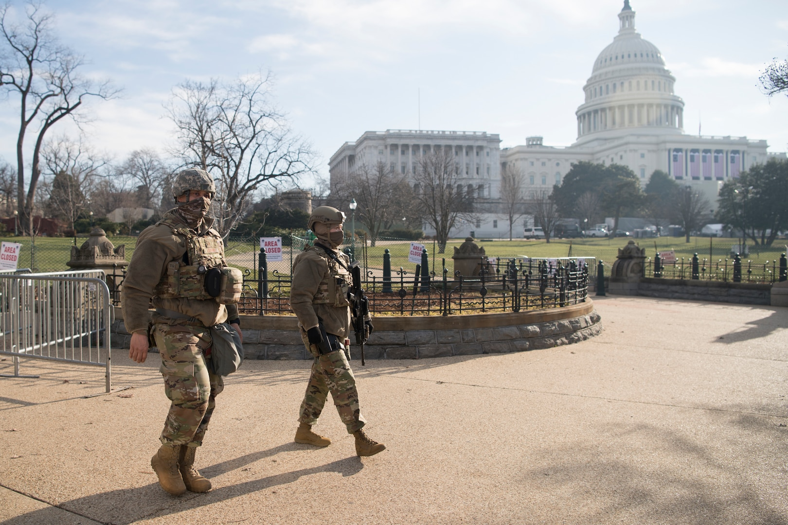 Virginia National Guard helps protect U.S. Capitol