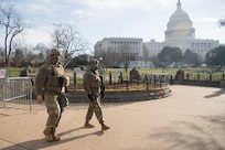 Virginia National Guard helps protect U.S. Capitol
